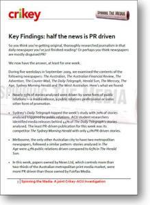 Crikey and ACIJ Media Study