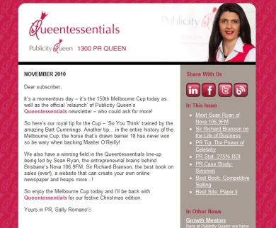 Queentessentials November 2010