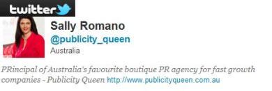 Publicity Queen on Twitter